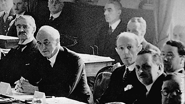 Довоенное правительство Великобритании несет значительную часть ответственности за попустительство по отношению к Гитлеру