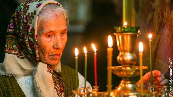 Протоиерей призвал пожилых молиться дома, а не в церкви