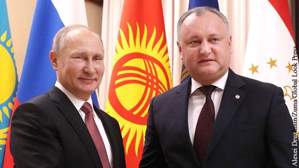 Молдавия получила от России 10 тыс. тестов на коронавирус