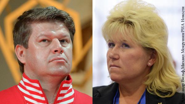Губерниев раскритиковал Резцову за нарушение карантина