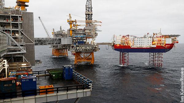 Стало известно о планах Норвегии ударить по ценам на нефть