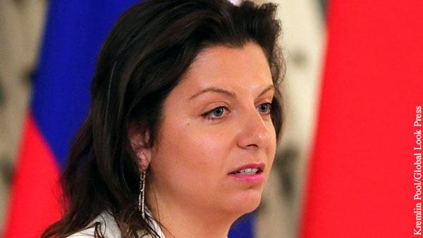 Симоньян призвала «богатых людей» помочь больницам на фоне коронавируса