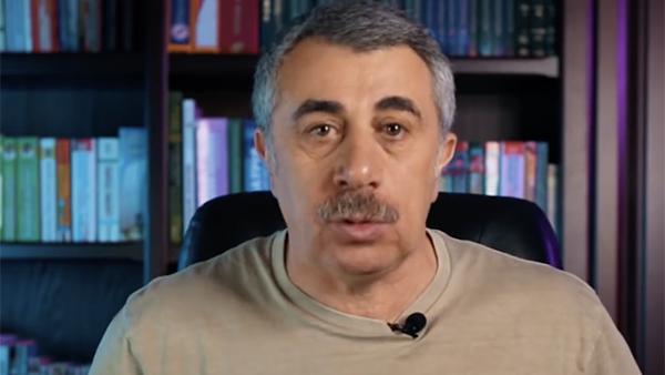 Доктор Комаровский описал свои действия в случае заражения коронавирусом