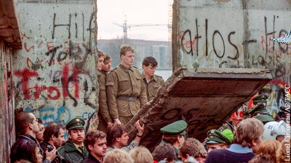 В мире: Немцы забыли о благодарности Москве за свое воссоединение