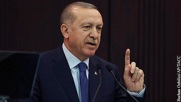 Эрдоган запретил продажу медицинских масок в Турции