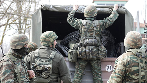 Греция заявила о готовности к войне с Турцией