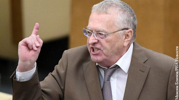 Жириновский отказался исключить Фургала из ЛДПР