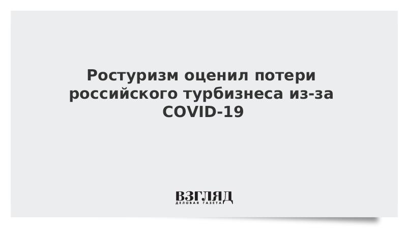 Ростуризм оценил потери российского турбизнеса из-за COVID-19