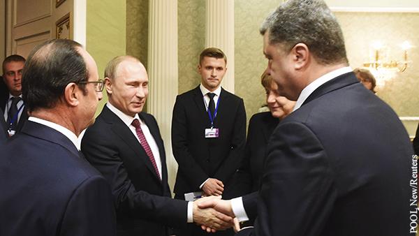 Депутат Рады обнародовал запись «переговоров» Путина и Порошенко
