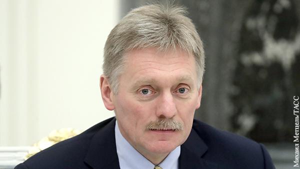 Песков прокомментировал задержание Фургала