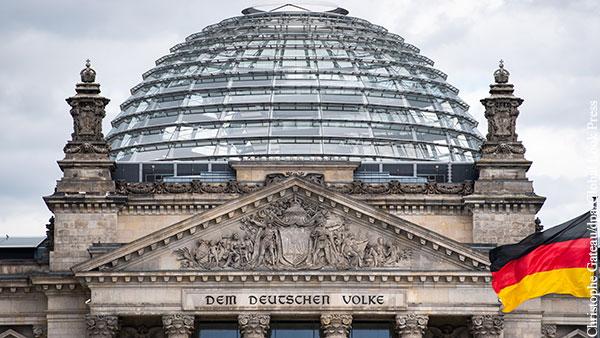 В Бундестаге ответили на обвинения Германии в предательстве ЕС