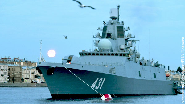 Приемный акт фрегата «Адмирал флота Касатонов» подписали в Петербурге