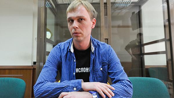Голунов подал иск к пятерым задержавшим его полицейским