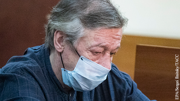 Свидетель объяснил мат в адрес Ефремова после ДТП