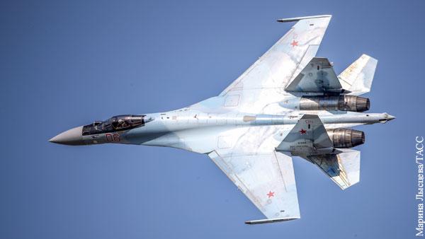 Кто заставил Су-35 стрелять по своим