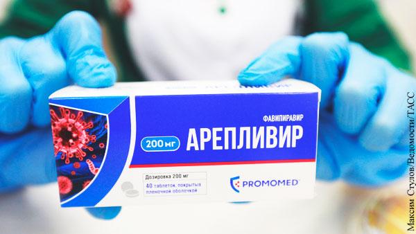 ФАС запросила обоснование цены на лекарство от коронавируса «Арепливир»