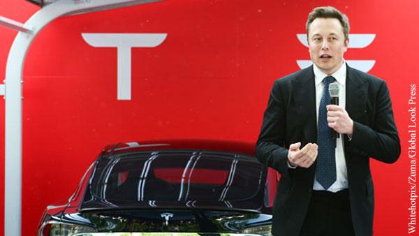 Стоимость акций Tesla упала на 11%