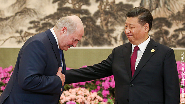 Китай отреагировал на инаугурацию Лукашенко