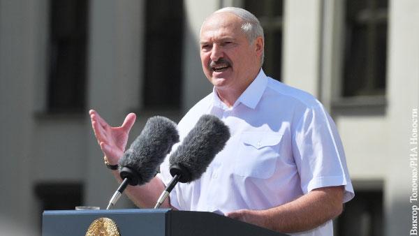 Лукашенко ответил на обвинения в «тайной инаугурации»