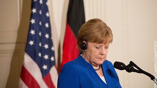 У американцев на Меркель есть очень сильный компромат
