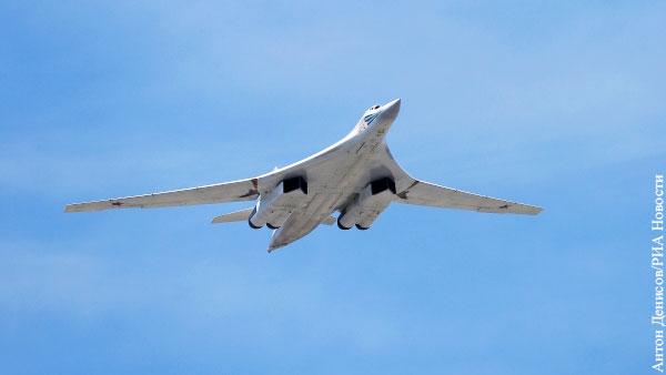 Российские Ту-160 пролетели вдоль границы Белоруссии с НАТО и Украиной