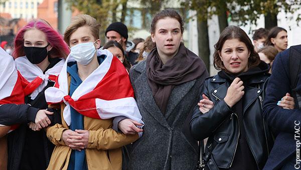 Студенты регулярно оказываются в первых рядах белорусского протеста
