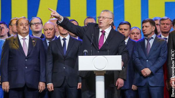Вождистский характер ЛДПР был главной силой Жириновского, но он же может и погубить эту партию
