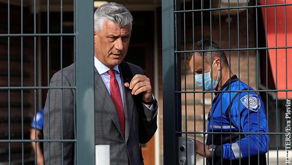 Президента Косова судят для принятия Сербии в НАТО :: В мире :: «ВЗГЛЯД.РУ»