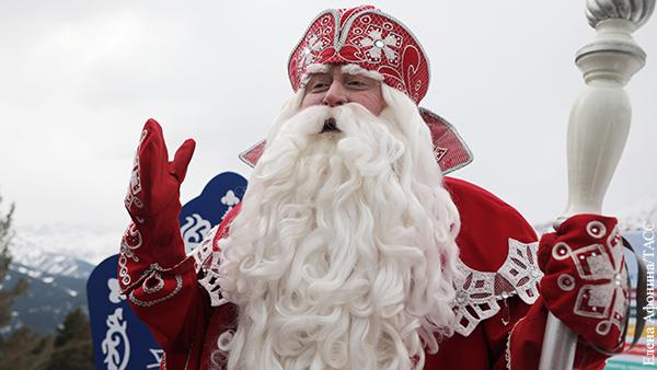 Выяснилось, как Дед Мороз защищен от коронавируса