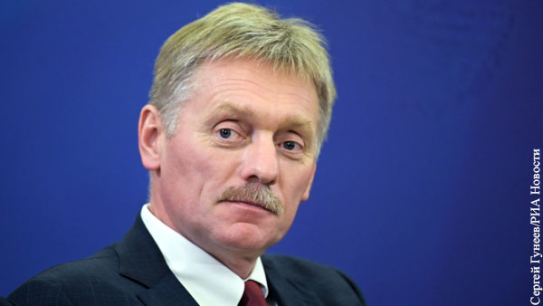 В Кремле отреагировали на призывы Санду вывести российских миротворцев из Приднестровья