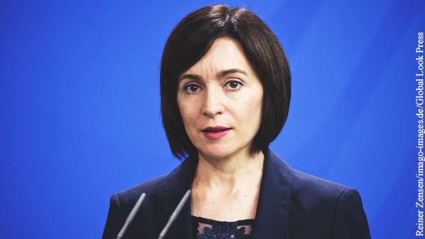 Санду раскритиковала законопроект о русском языке в Молдавии
