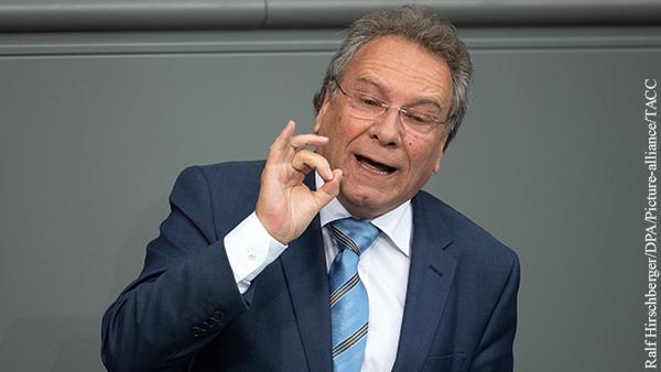 В Бундестаге призвали ЕС создать рычаги в ответ на действия США против «Северного потока – 2»