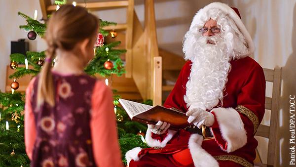 Санта-Клаусу в Британии разрешили не носить маску