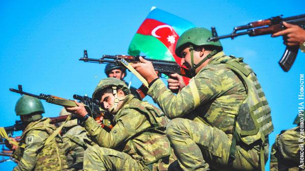 Считается, что одержать победу в Карабахе азербайджанской армии помогли сирийские боевики