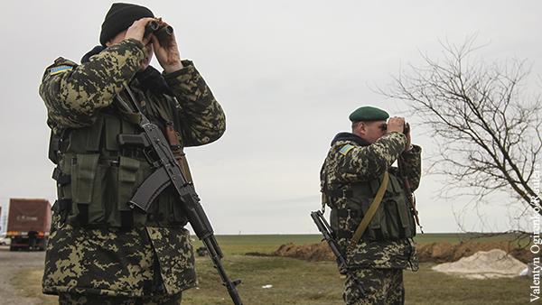 Украина отреагировала на сообщения о перестрелке на границе с Россией
