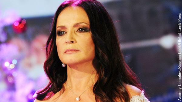 Ротару выступила на «Песне года» в Москве