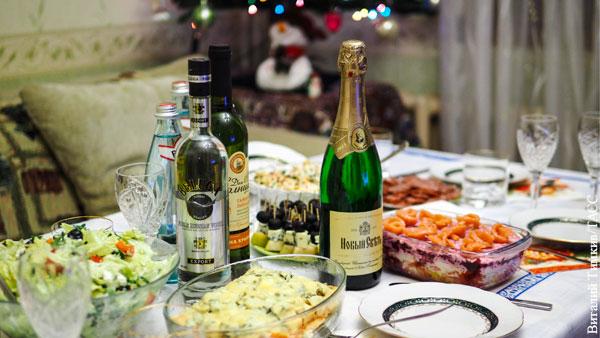 Экономика: Почему новогодний стол в России дорожает при низкий инфляции