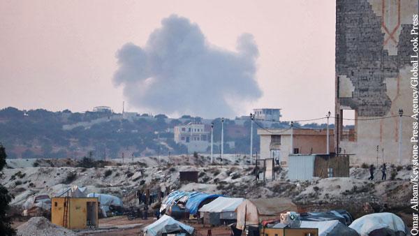 Израиль нанес серию авиаударов по целям в Сирии