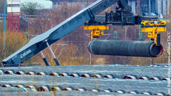 Датская компания отказалась от участия в проекте Северный поток  2 из-за угрозы санкций