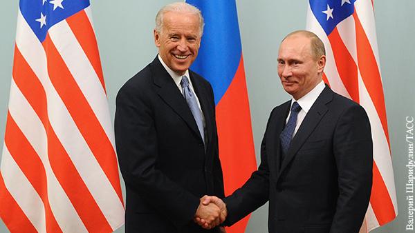 Посол России в США назвал условие встречи Путина и Байдена