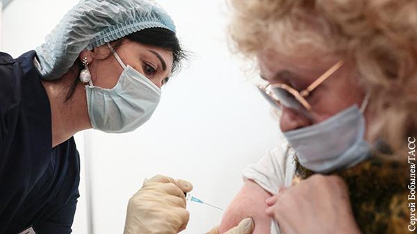Россия наращивает темы проведения вакцинации