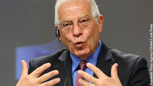Боррель призвал Евросоюз к диалогу с Россией