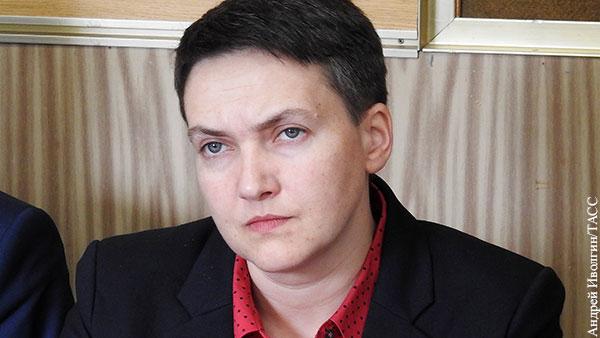 Савченко предрекла Украине раскол