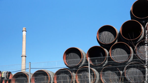 Немецкая фирма отказалась от участия в проекте Северный поток  2 из-за угрозы санкций
