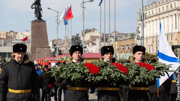 В России прошли акции в память о защитниках Отечества