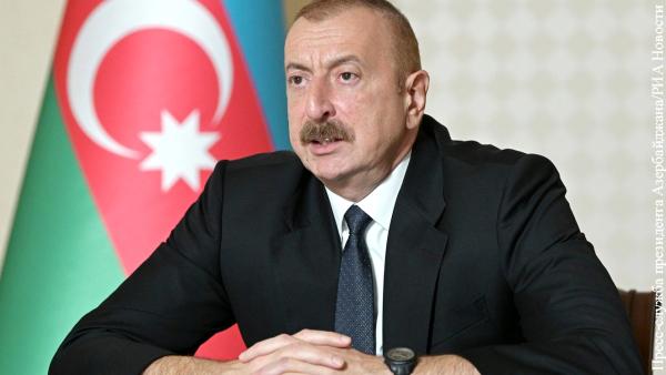 Алиев: Пашинян ведет Армению в бездну и разруху