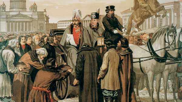 Русские крепостные вовсе не были бесправными рабами