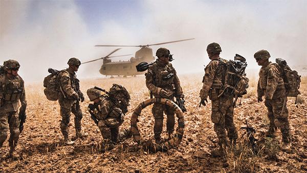 Американские войска присутствуют по всему миру