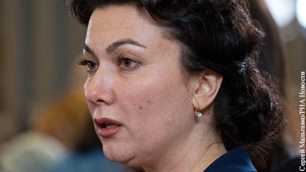 Министр культуры Крыма нецензурно выругалась во время совещания с Аксеновым
