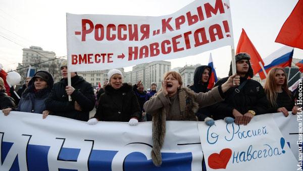 Политика: Крымская весна продолжает объединять россиян